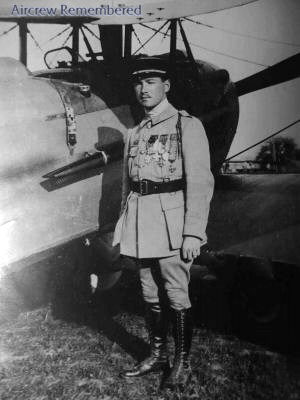 Rene Fonck with his Spad